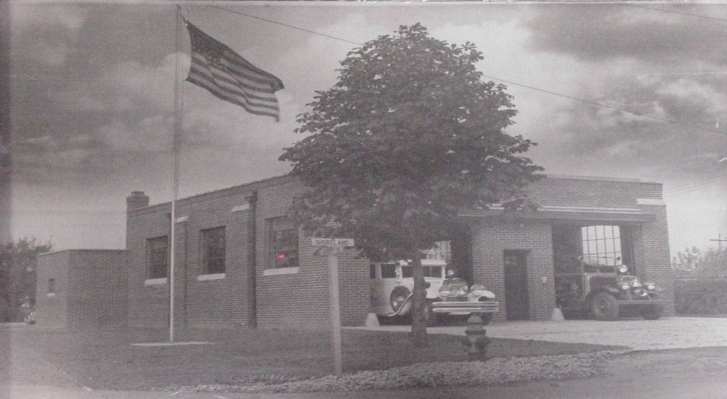 Shoreland VFD Fire Station in 1942